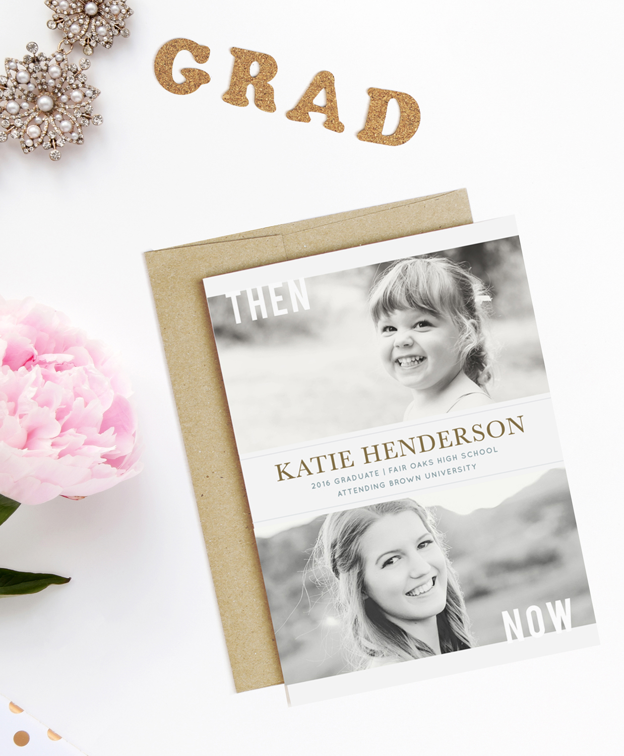 diy graduation invitations and thank you cards online sweet anne