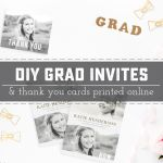 DIY Graduation Invitations and Thank You Cards Online