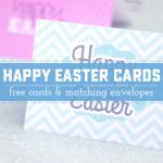 Uplifting Happy Easter free Printable Notes