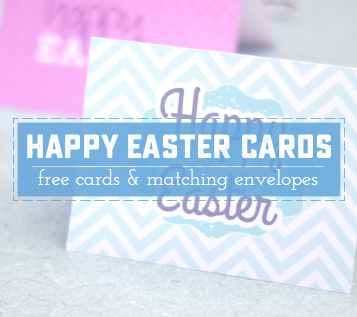 photograph regarding Happy Easter Cards Printable identified as Uplifting Satisfied Easter cost-free Printable Notes - Adorable Anne Ideas
