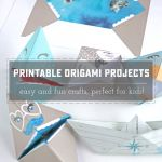 Real Talk Live: Printable Origami Boat and Puppet