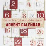 How to Make a Beautiful and Meaningful Printable Advent Calendar