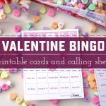 Fall in Love with Free Printable Valentine Bingo