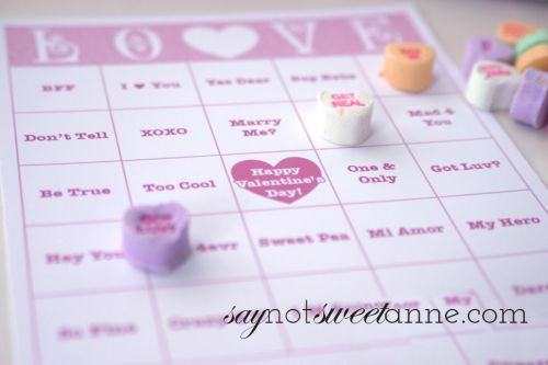 This is a graphic of Printable Valentine Bingo Cards for blank
