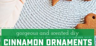 How To Make DIY Cinnamon Ornaments