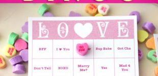 Conversation Heart B-I-N-G-O [Free Valentine Bingo Printable]