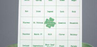 St. Patrick's Day Bingo Printable